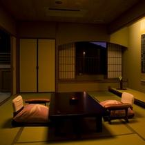 高野槇の露天風呂付・和洋室
