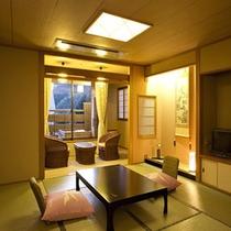 高野槇の露天風呂・スタンダード和室