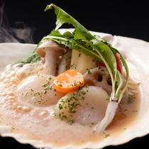 ホタテの柚子味噌焼きイメージ