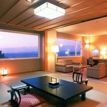 ホテルシーモアで1番のリピート率を誇る人気の特別和洋室