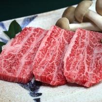 信州プレミアム牛肉(料理一例)