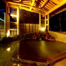 ■松林庭園-露天風呂(男性)■