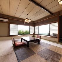 *『小室』部屋風呂なしの和室。眺望もお楽しみいただけます。