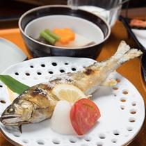 *夕食(殿様・焼き魚)