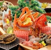 選べるメイン料理と伊豆ならではの舟盛りをお楽しみいただけるスペシャルコース「彩」SAI。