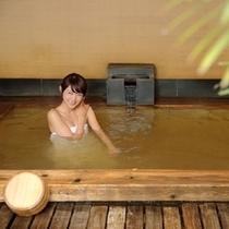 【天然温泉大浴場】ナトリウムなどのミネラルをたっぷり含んだ100%天然温泉です