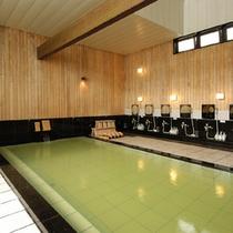 男女入替制の大浴場(弐の湯)