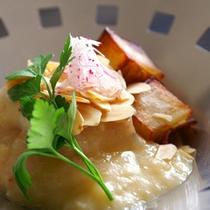白身魚ブールブランソース