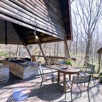 *バーベキュー施設/那須の自然豊かな環境で行う炊飯活動!ファミリーやグループでお愉しみ下さい。