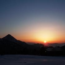 横手山・渋峠スキー場眺望