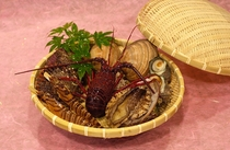 花海鮮蒸し食材