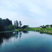 【大崎つりぼり】赤城山南麓、前橋市にある養魚場・鱒釣り場(当館から車15分ほど)