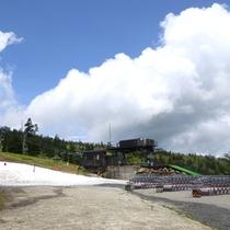 *夏場のスキー場2