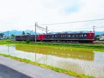 しなの鉄道 観光列車ろくもん 皐月風景