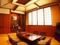 民芸調タイプの客室一例 メゾネットタイプ2F
