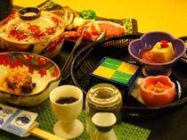 旬の郷土会席料理一例
