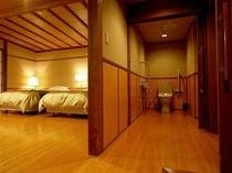 「山水亭」露天風呂付客室(洋室)