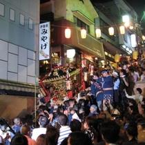 毎年9月18日〜20日は蘆花祭〜伊香保まつ