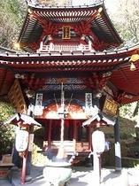 坂東16番水澤寺 六角堂 (秋)