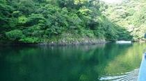 流れ舟(船内からの景色)