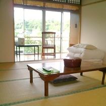 【客室一例/和室】どこか懐かしい雰囲気の和室♪