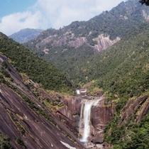 【千尋(せんぴろ)の滝】屋久島を代表する滝の一つ。