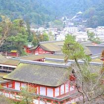 宮島風景写真