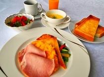 【朝食】洋朝食