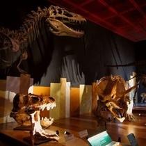 いわき市 石炭・化石館(恐竜の化石)