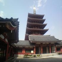 浅草寺五重塔イメージ