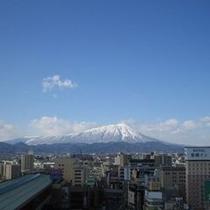 14階からは、天気が良い日は綺麗な岩手山が眺望頂けます!!