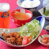 ≪夕食≫生ビ-ル1杯無料!選べるメインの夕ご飯