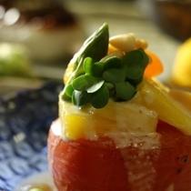 ☆料理_焼きトマトのマリネ