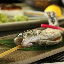 ☆料理_マスの塩焼き