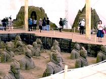 66砂の彫刻ドーム(鳥取砂丘お車90分)