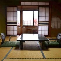 *【和室(一例)】畳のお部屋でごゆっくりお寛ぎください。