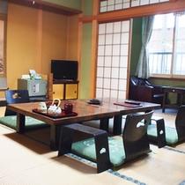 【12畳和室/大望(一例)】畳のお部屋でごゆっくりお寛ぎください。