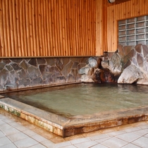 【大浴場】身体の芯まで温まると評判の「新平湯温」