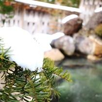 雪見露天 男性用露天風呂
