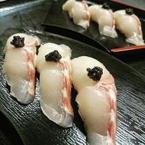 ちょうざめ握り寿司
