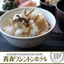 期間限定 朝食イベント:竹の子ご飯