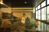 岩風呂大浴場
