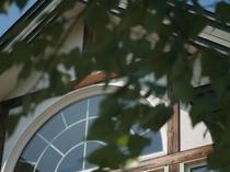 英国貴族の館 夏の窓