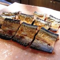 ある日の朝食 本日のお魚「さんま干焼」