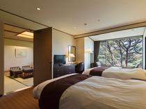 コネクティングルーム(松林側和室、松林側洋室)