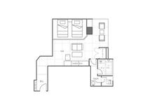 ビューバス付き和室ツインベッドルームイメージ