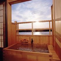 客室露天風呂①