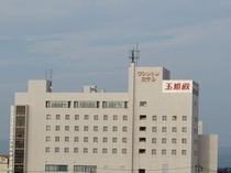 ホテル東側外観③