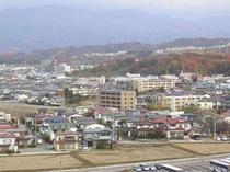 ホテル 磐梯山方面景観
