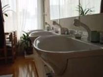 シャワ-洗面台